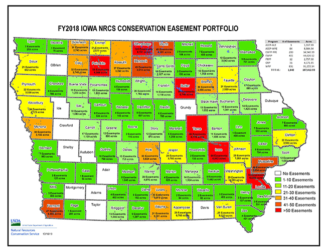 Iowa NRCS Easements Portfolio - 25 Years | NRCS Iowa
