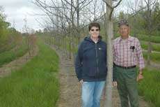 Shirley and Lawrence Buchheit enjoy planting riparian forest buffers on their property near Perryville.