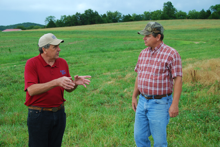 Dave Skaer, Area Resource Soil Scientist) and Jim Hoene