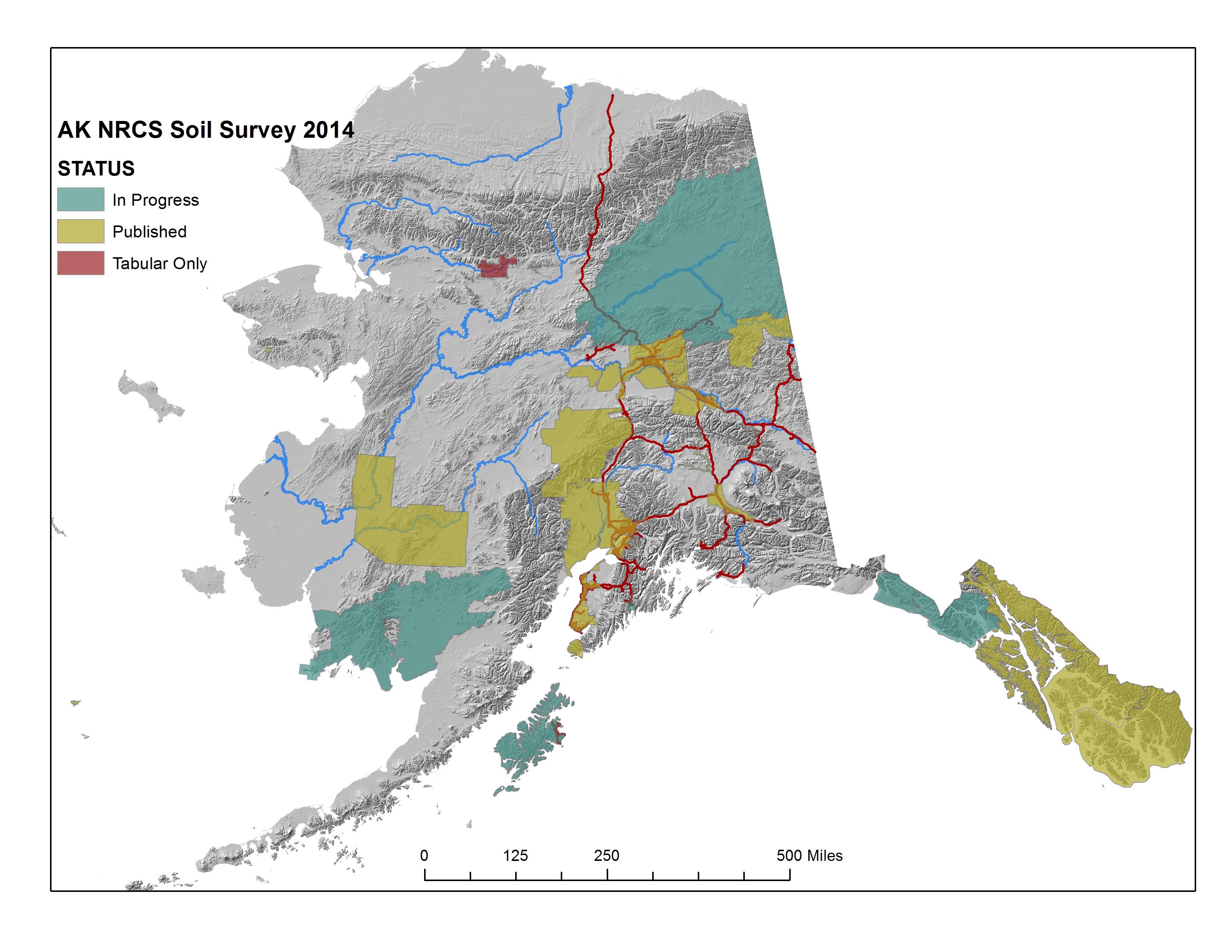Soil Surveys Nrcs Alaska