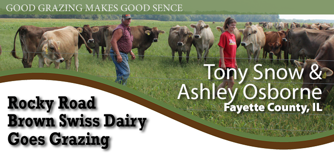 Tony Snow and Ashley Osborne - Rocky Road Brown Swiss Dairy