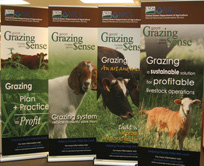 Photo of the four grazing banners