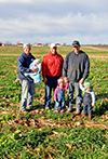 The Prevo family recorded record average yields by improving soil health quickly on poor soils.